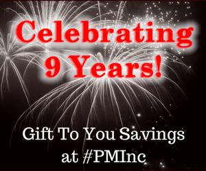 Happy 9th #PMInc