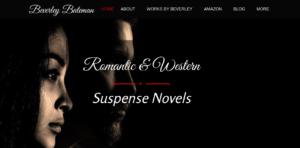 Author Beverley Bateman, Personalized Marketing Inc Website Design