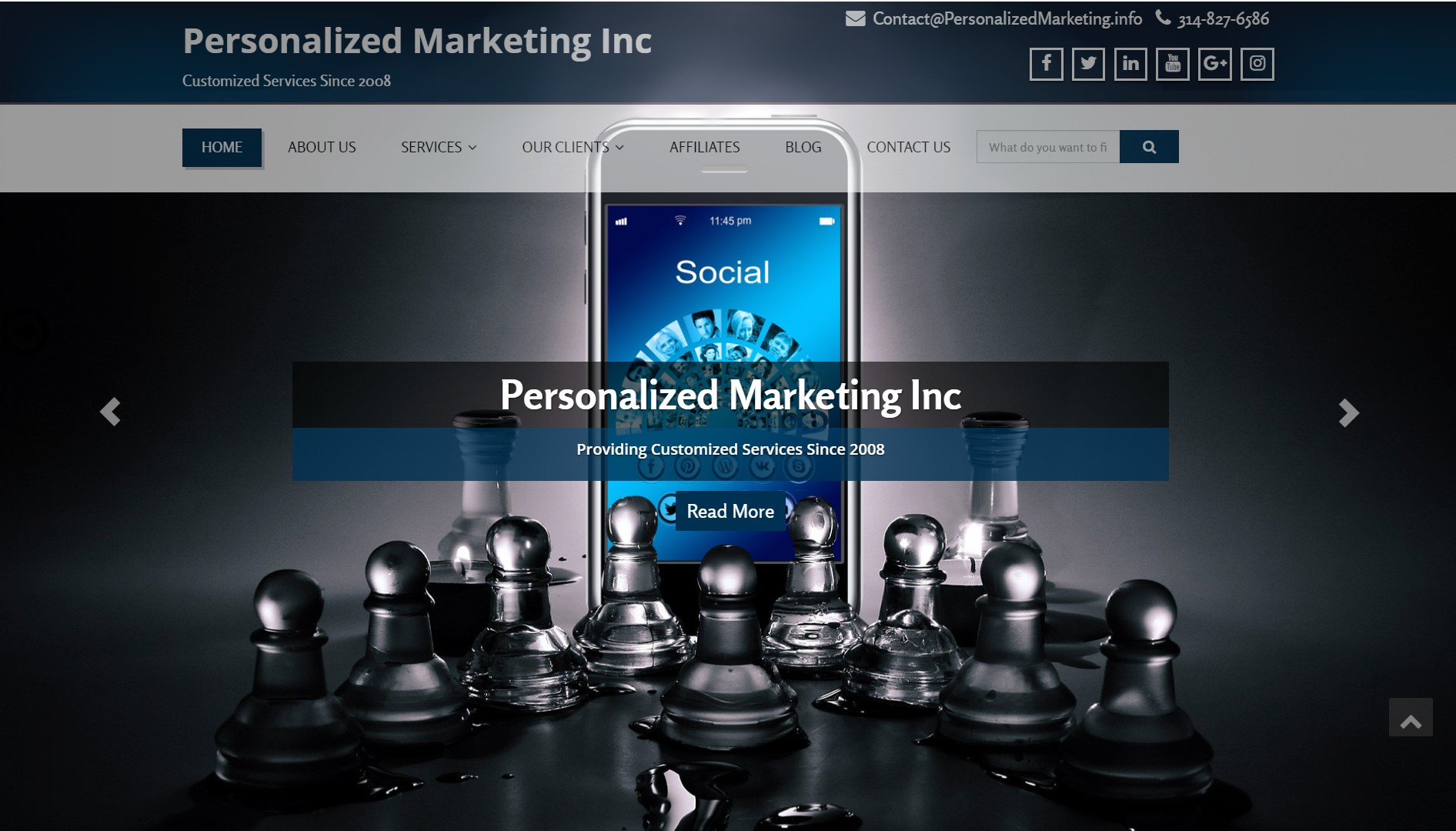 PMInc new look | Personalized Marketing Inc