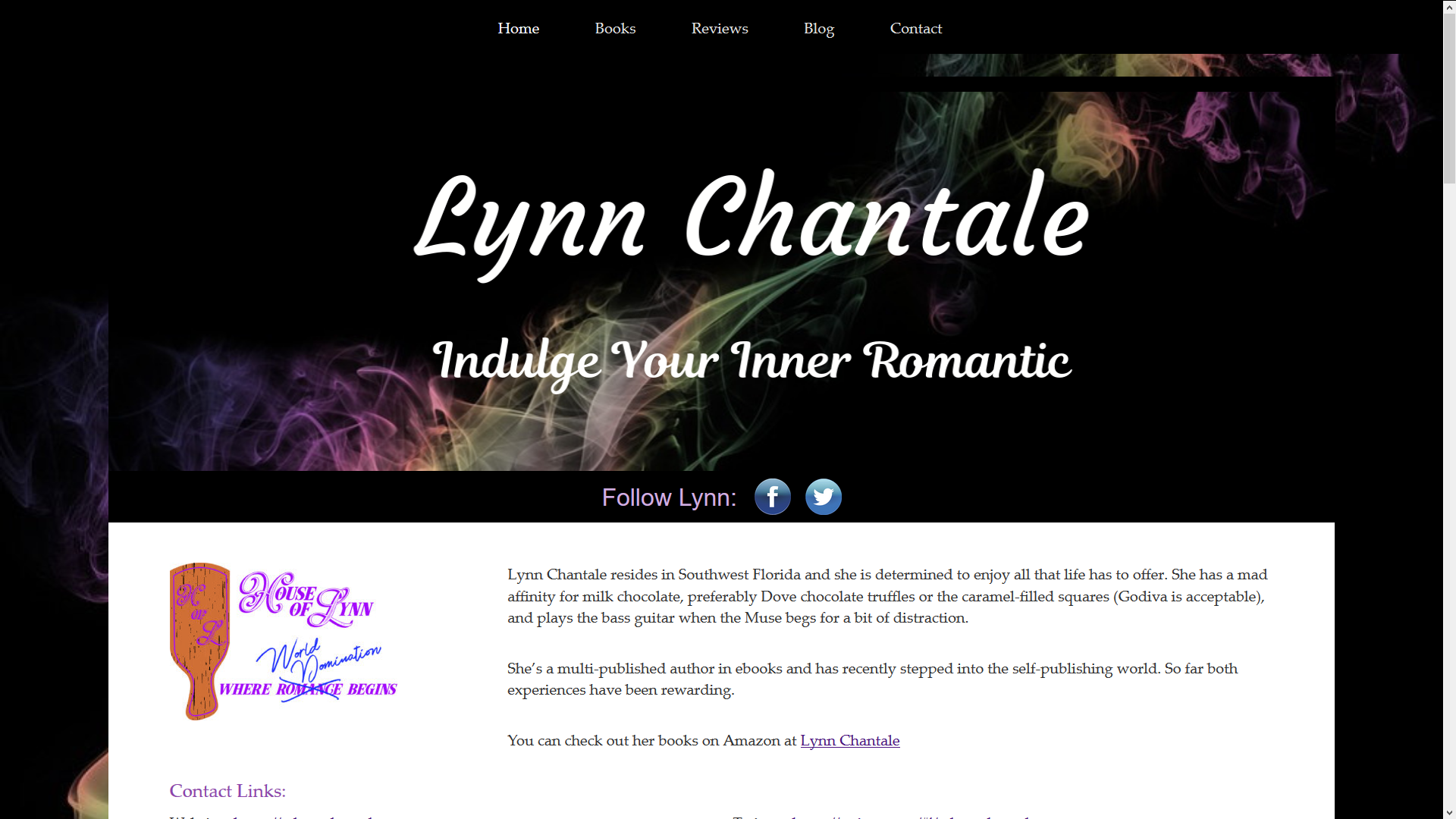 Lynn Chantale WordPress Theme Design