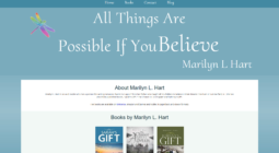 Marilyn L. Hart - WordPress Theme Design