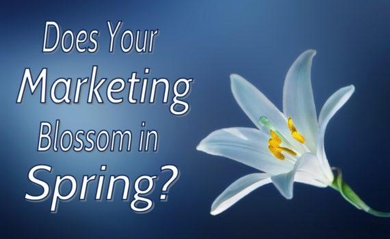 Spring Marketing Flower - Personalized Marketing Inc