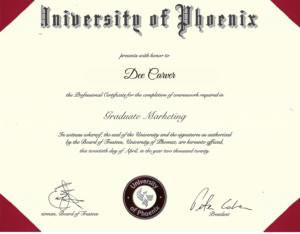 Graduate Marketing 3.73 GPA